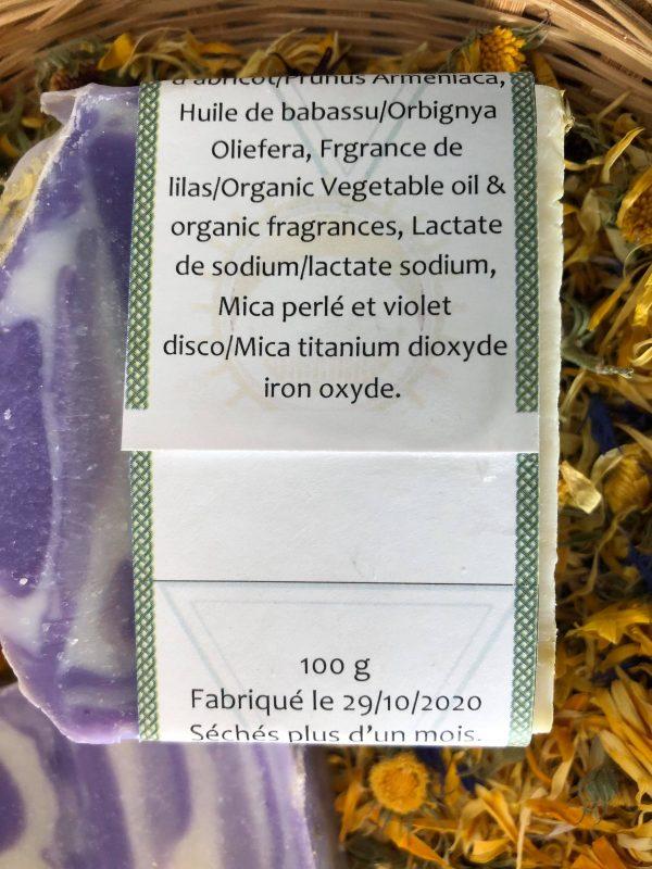Savon-lilas